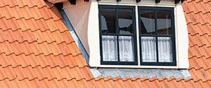 dakkapel op dak